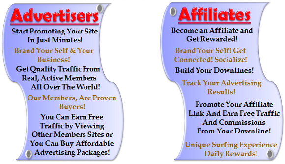 Advertisers, Affiliates